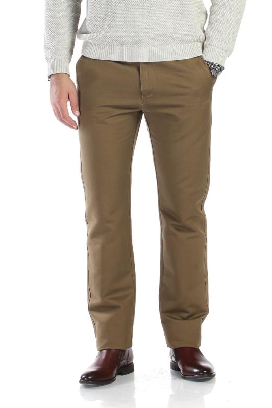 Pantaloni maro deschis R914-1 F1