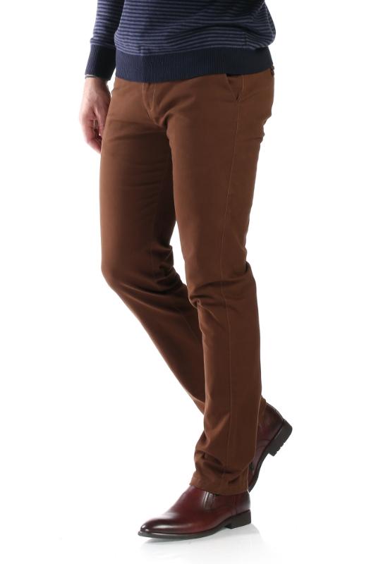 Pantaloni maro 83899-2 F1