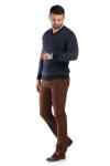 Pantaloni maro 83899-2 F2