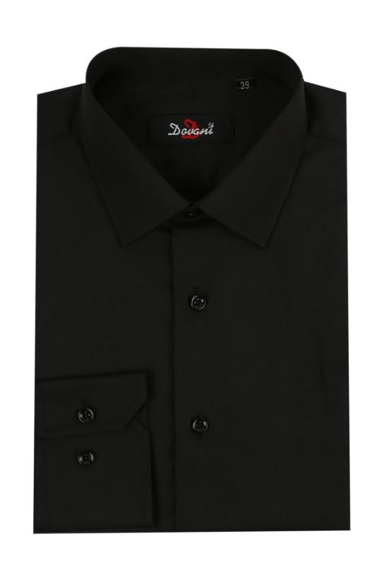 Camasa clasica neagra 0069-6910 F1