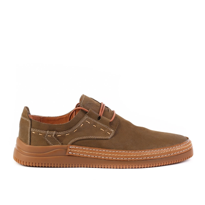 Pantofi Brown F396-2-F228 F1