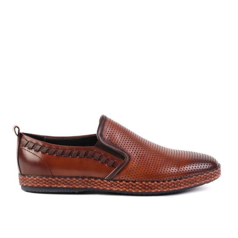 Pantofi Brown LM907-T02 F1