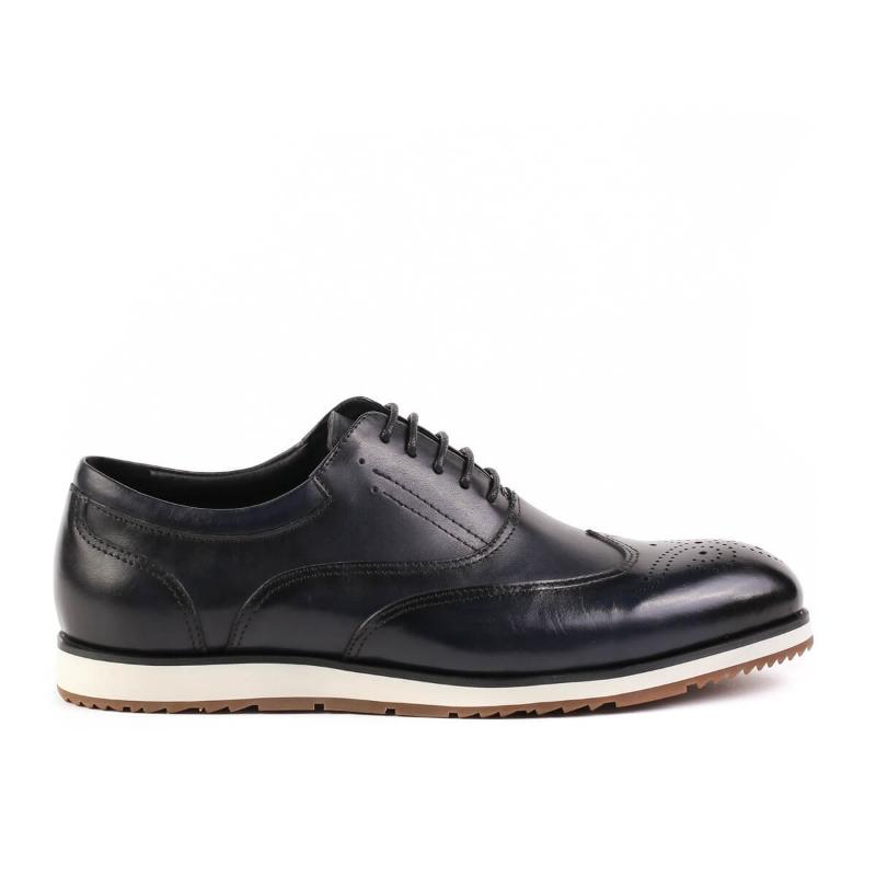 Pantofi bleumarin X102-1 F1