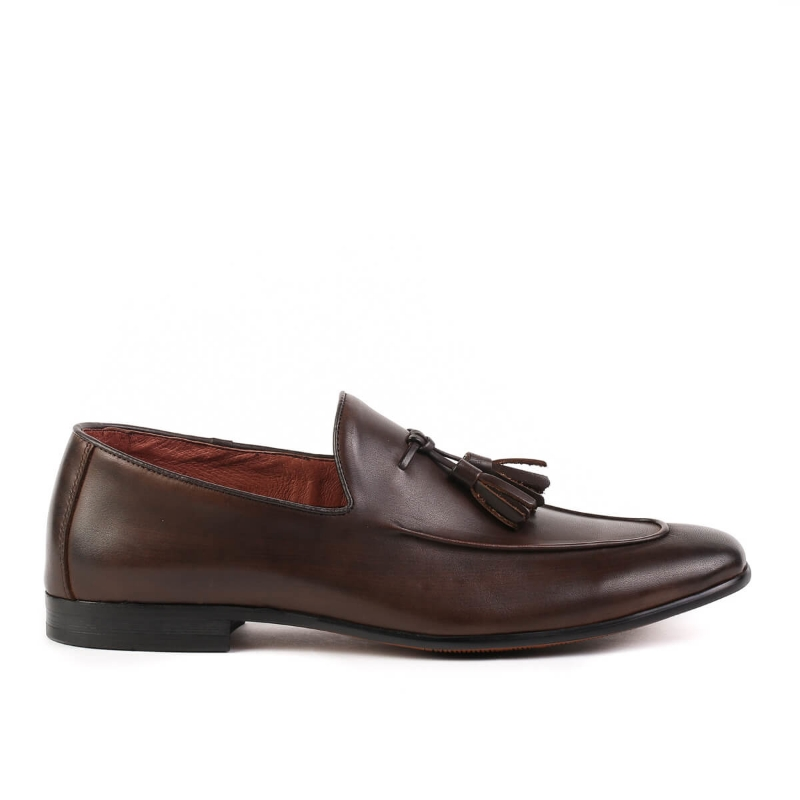 Pantofi Coffee Y1810-1 F1