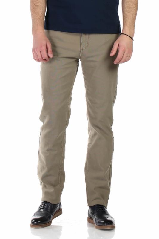 Pantaloni bej inchis R930-2 F1