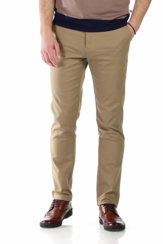 Pantaloni bej 002-4 F1