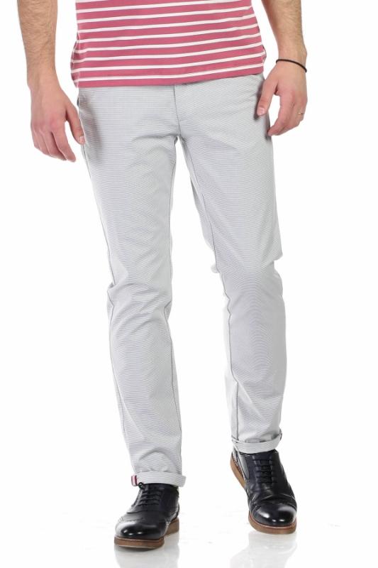 Pantaloni albi S946 F1