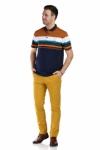Pantaloni mustar S941-47 F2
