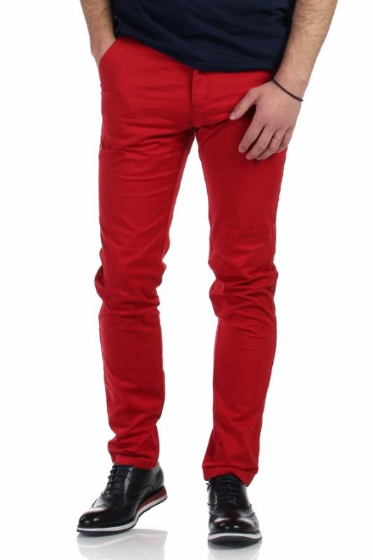 Pantaloni rosii S941-93 F1