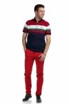 Pantaloni rosii S941-93 F2