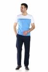 Pantaloni bleumarin R945-22 F2
