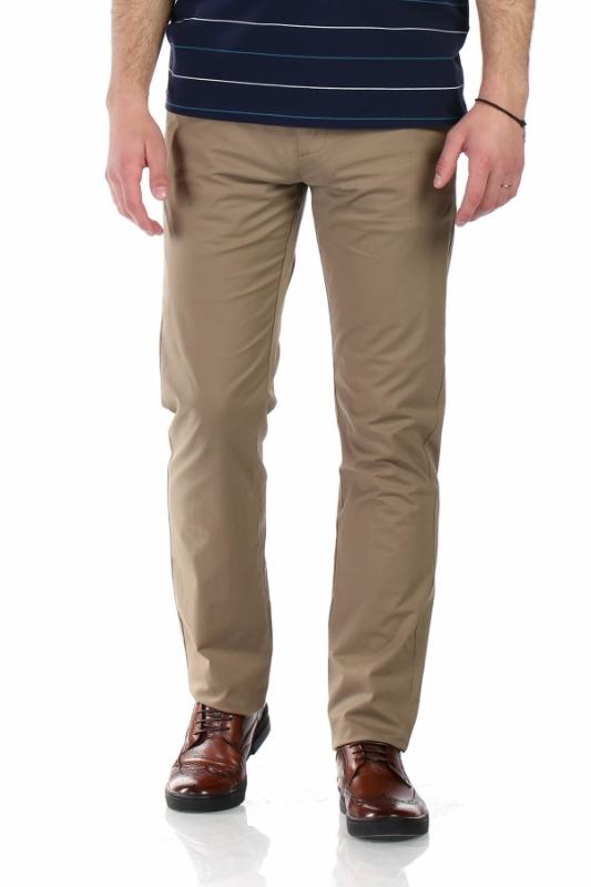 Pantaloni bej R945-26 F1