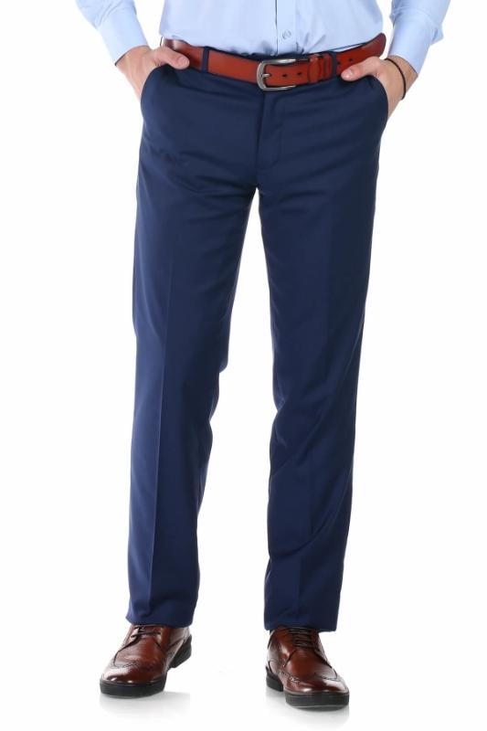 Pantaloni albastri A370-539 F1