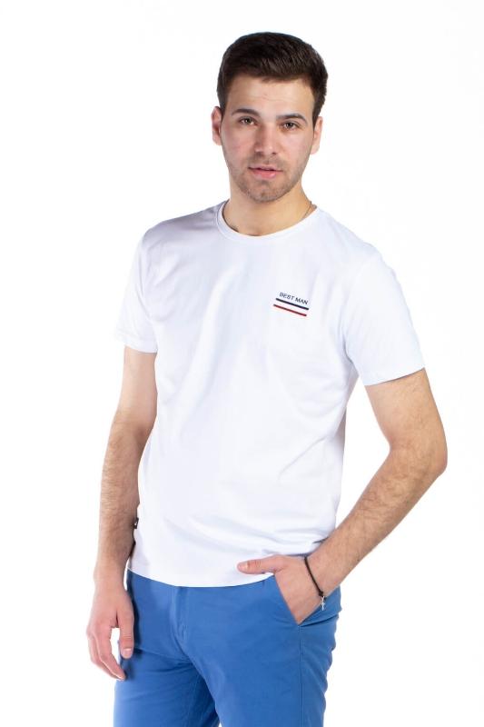 Tricou alb 1118-1 F1