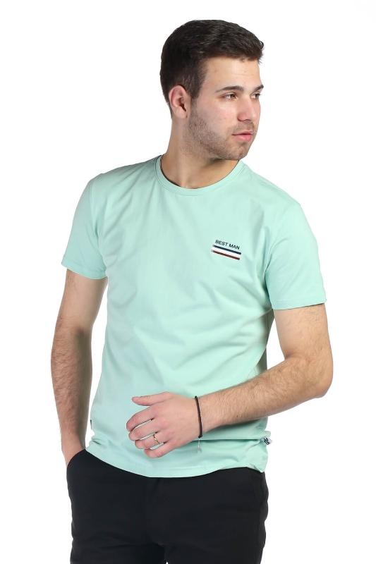 Tricou verde 1118-6 F1