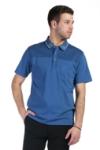 Tricou albastru A20216S-4 F1