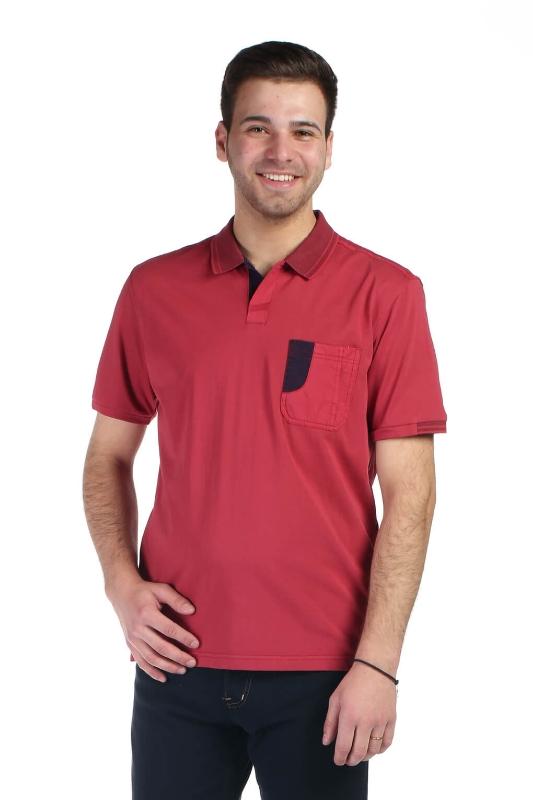 Tricou rosu A20209S-4 F1