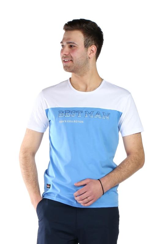 Tricou bleu 1802-1 F1