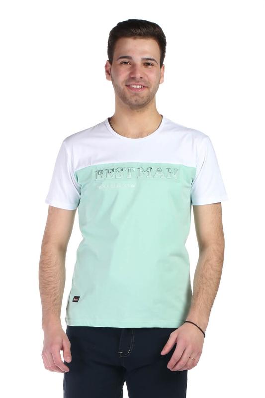 Tricou verde 1802-2 F1