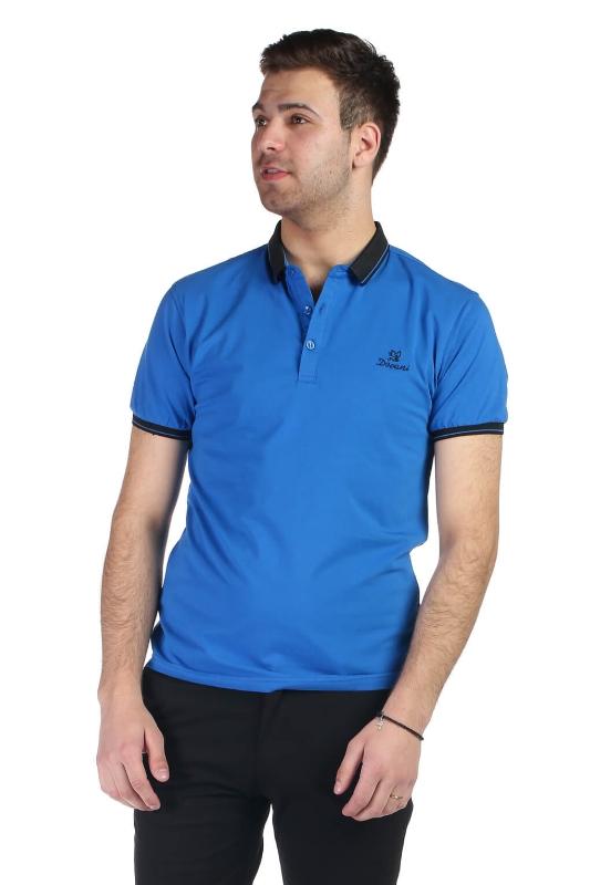 Tricou albastru 020-6 F1