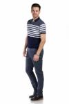 Pantaloni albastri S934-11 F2