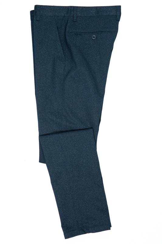 Imagine Pantaloni bleumarin pepit R203-8