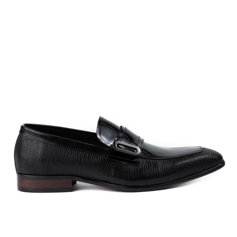 Imagine Pantofi negri 3676-062