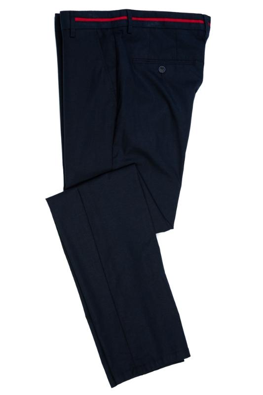Imagine Pantaloni bleumarin R223-8